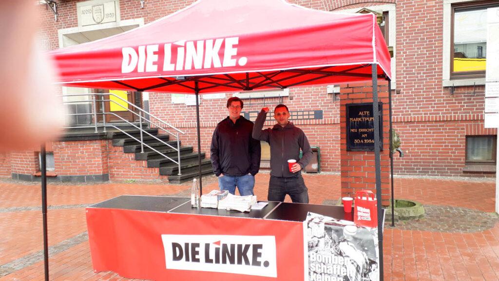 DIE-LINKE-Infostand